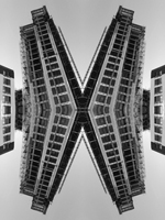 Abstract photograph by Andy Peutherer. Atlantic 3, Glasgow Harbour Development, Glasgow Clydeside, Glasgow. Scotland.