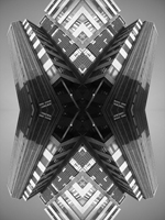 Abstract photograph by Andy Peutherer. Boyde Orr Building, Glasgow University, West End Of Glasgow, Glasgow, Scotland.