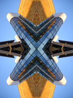 Abstract photograph by Andy Peutherer. Glasgow University.1, Boyde Orr Building, Glasgow University, West End Of Glasgow, Glasgow, Scotland.