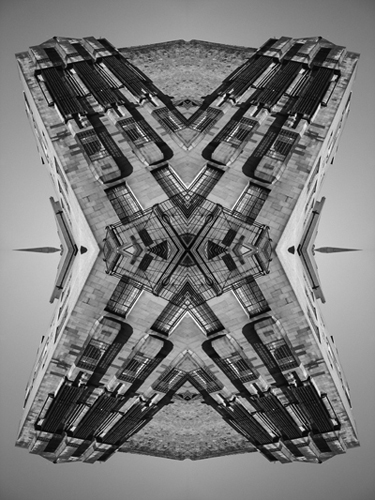 Abstract photograph by Andy Peutherer.  Glasgow School of Art.1,Glasgow School of Art, Renfrew Street, Glasgow, Scotland.
