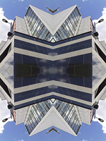 Abstract photograph by Andy Peutherer. Hex.2, Glasgow Clydeside, Glasgow. Scotland.