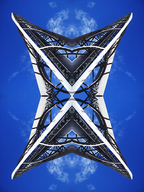Abstract photograph by Andy Peutherer. Partick 1, Glasgow Clydeside, Glasgow. Scotland.
