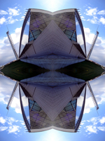 Abstract photograph by Andy Peutherer. Abstract photograph by Andy Peutherer. Partick 1, Glasgow Clydeside, Glasgow. Scotland.