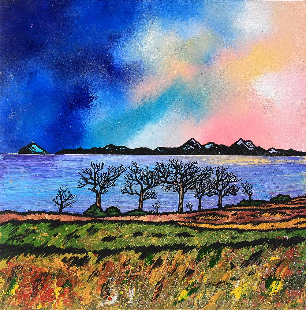 the isle of arran scotland landscape paintings prints